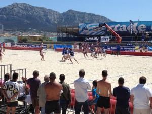 Ovale Beach remporte le Beach Rugby Five de Marseille