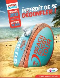 Beach Rugby Tour sur la plage Miramar de La Londe-les-Maures