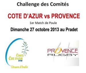 Challenge des comités : provence / Côte d'Azur