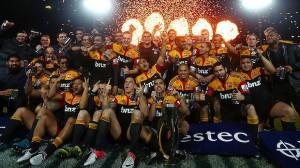 les Chiefs, vainqueur du Super Rugby