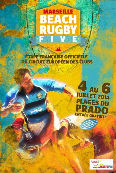Beach Rugby Five Marseille 2014