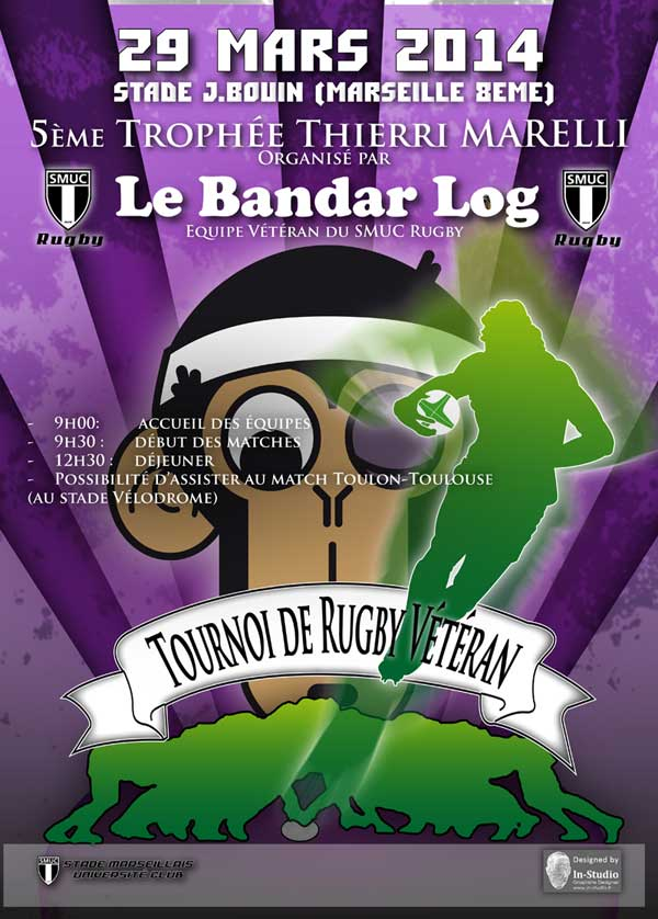 5e édition du Tournoi Vétéran Marelli - Bandarlog / SMUC