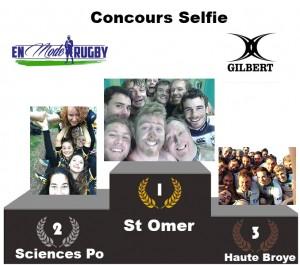 Résultats concours selfie St Omer