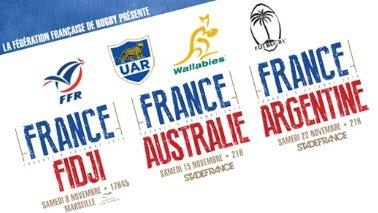Tournée du XV de France - Automne 2014