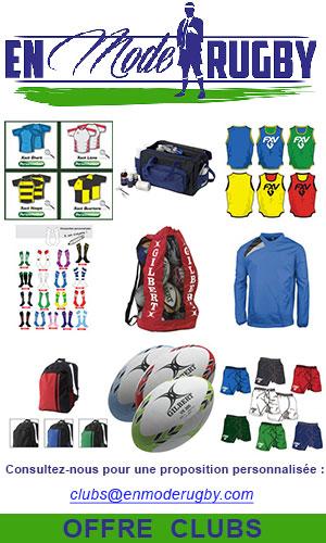 En Mode Rugby, une offre club complète pour les clubs de rugby PACA