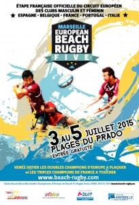 Le Beach Rugby Five de Marseille se déroulera du 3 au 5 juillet 2015