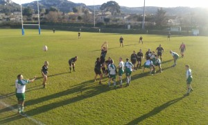 Gignac Rugby / Rc pernois : 27/17 25 janvier 2015