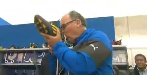 Jake White, le nouveau coach de Montpellier, qui fête sa première victoire avec le MHRC