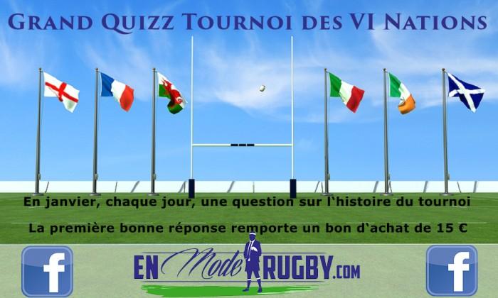 Quizz Tournoi des 6 Nations