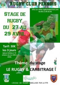 Stages Rugby de Paques à Pernes