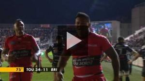 Résumé vidéo, Rc Toulon / Brive, 19e journée de Top14 2015