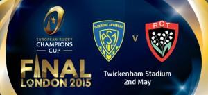 Places gratuites pour la finale de Champions Cup 2015