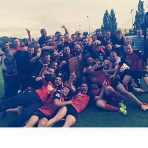 Rugby Club Cevenol Champion provence 2015 1ère série