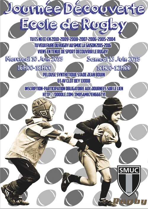 Journée découverte SMUC Ecole de Rugby