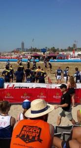 Tournoi Beach Rugby à Plaquer - Barcelone