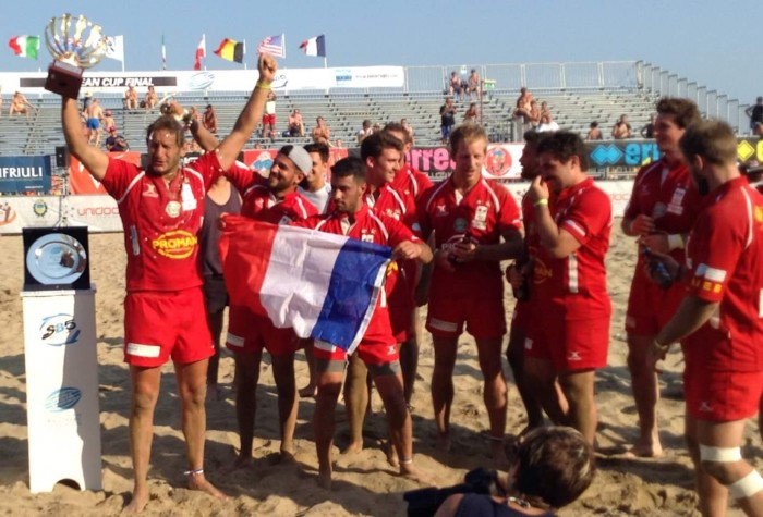 Ovale Beach Marseille Triple Champion d'Europe