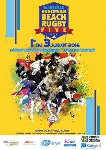 Beach Rugby Five Marseille 2016