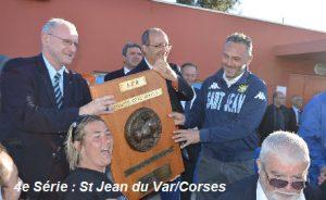 St Jean Corse 83 – Tourves : 35-5