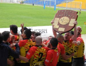 Vitrolles Rugby Club, champions Provence 2016 2e série