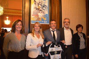 Lionel Laugier - au centre - nouveau président de l'EBRA