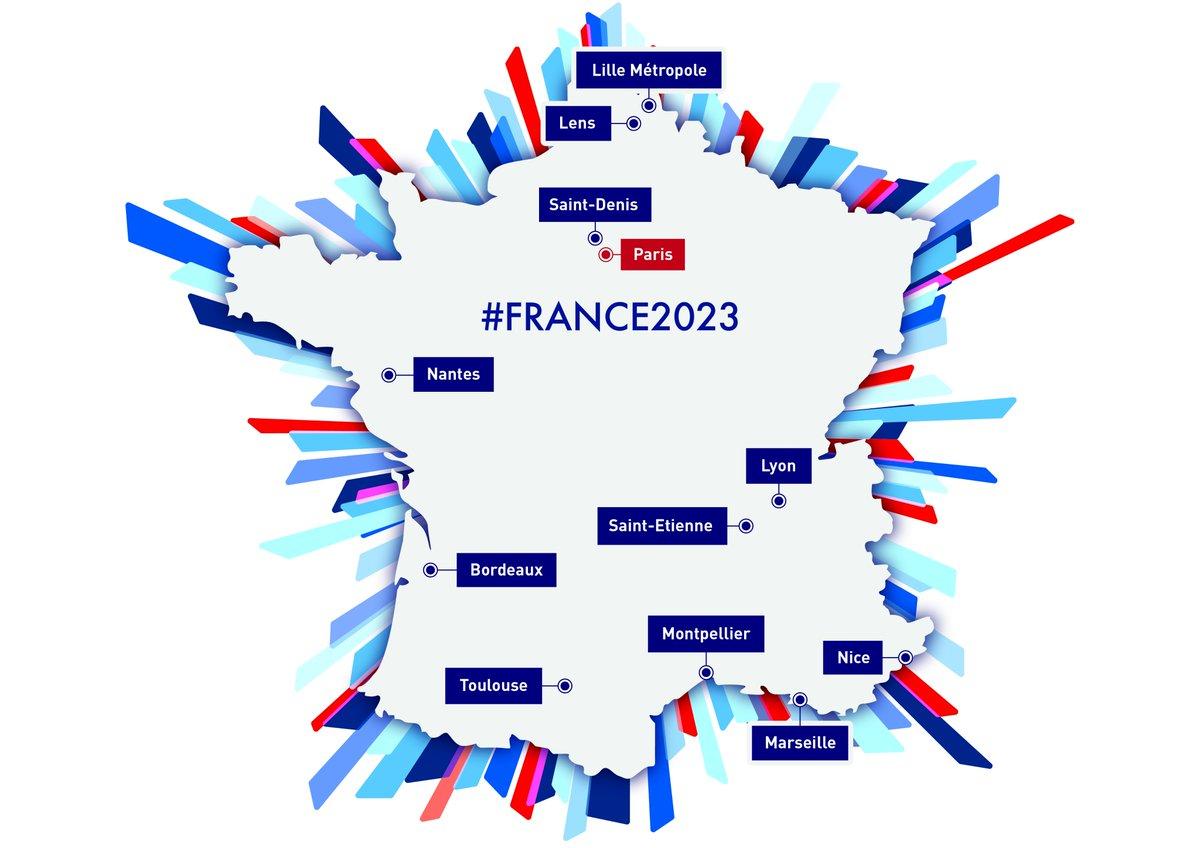 Marseille et Nice retenues pour France2023