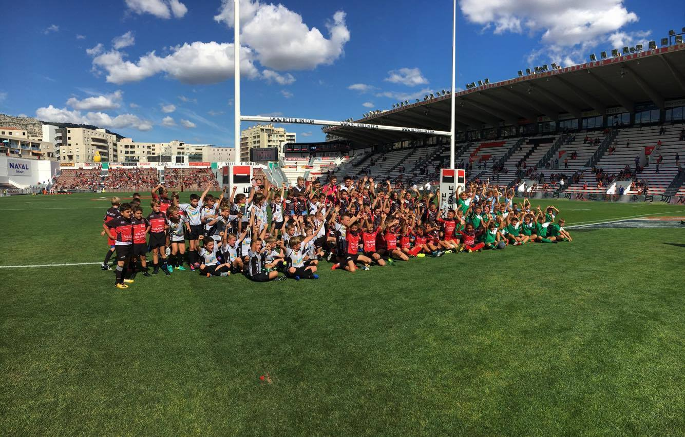 Les écoles de rugby invitées en lever de rideau RCT/ST