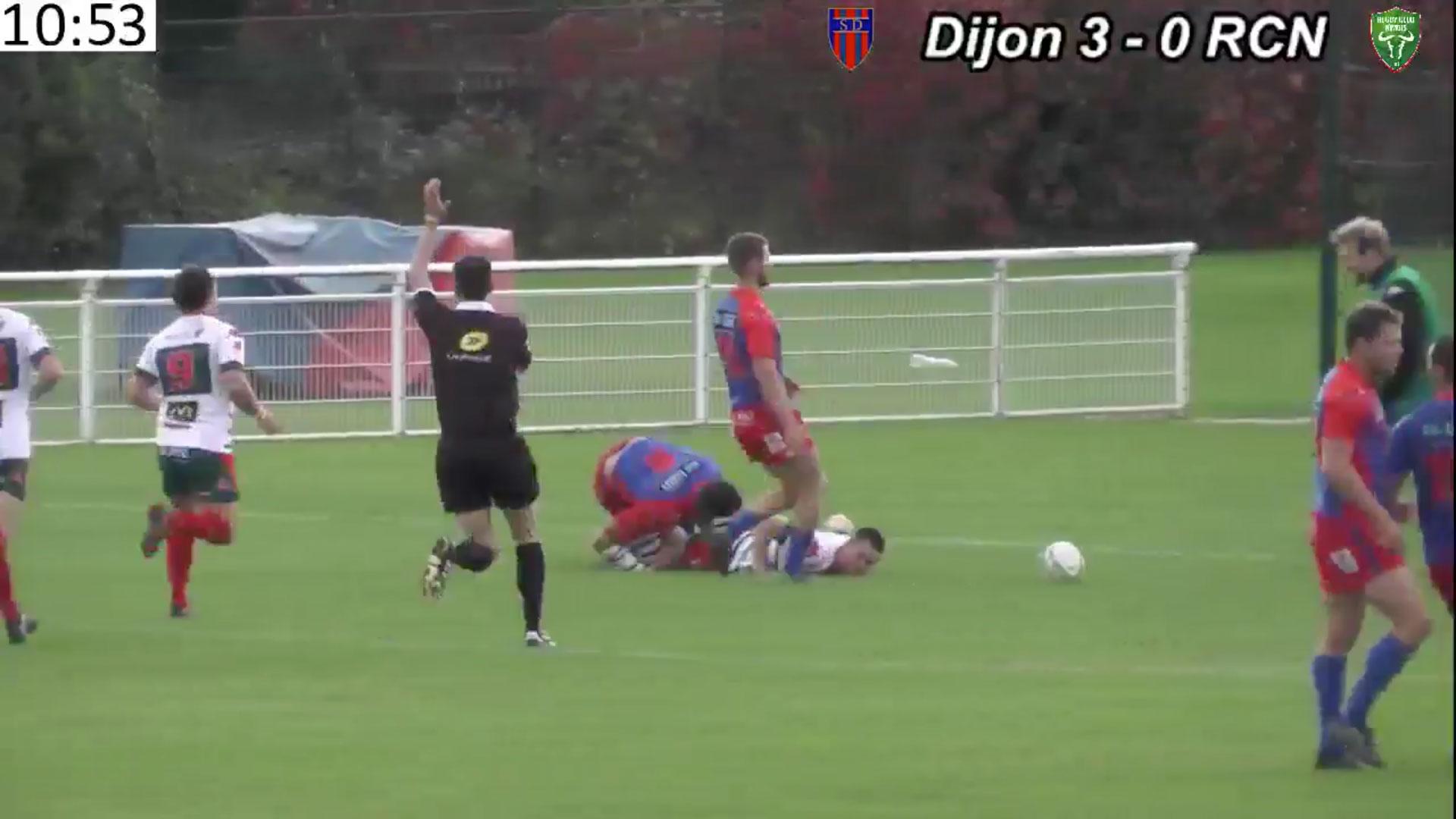 Fédérale 1 : Dijon / RC Nîmes 8/10/2017