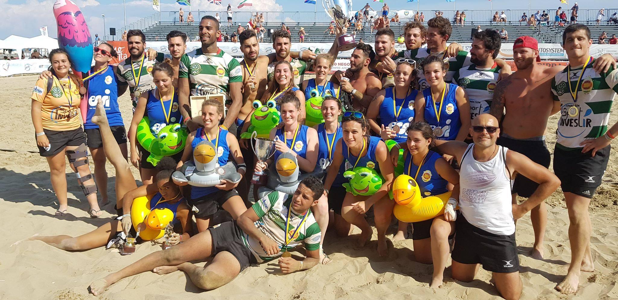 Ovale Beach Marseille champion d'Europe * 2