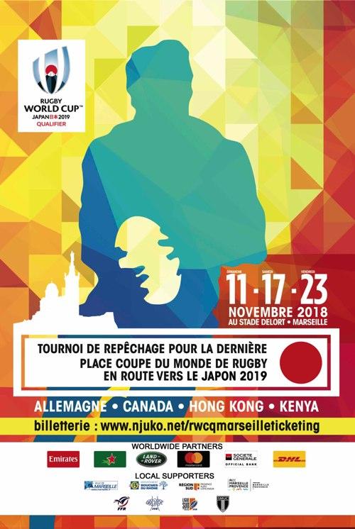 Billetterie Tournoi de repêchage RWC 2019