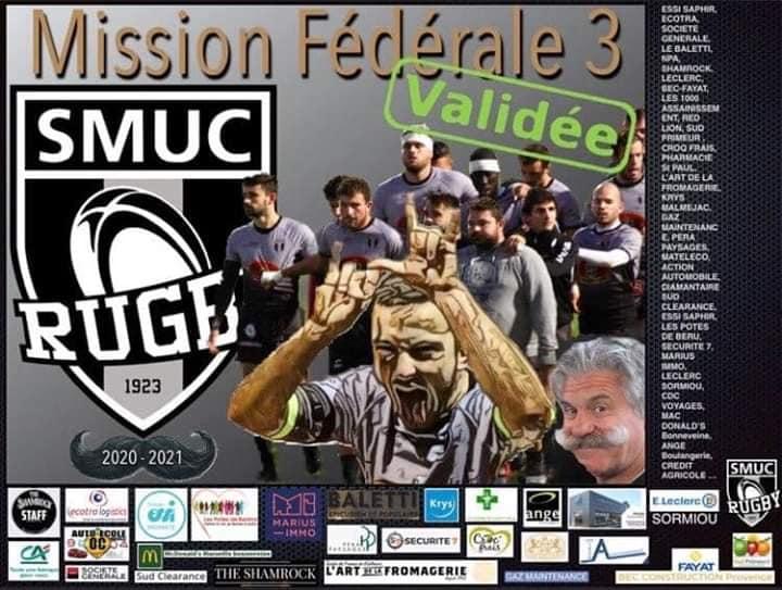 Le SMUV rugby monte en Fédérale 3