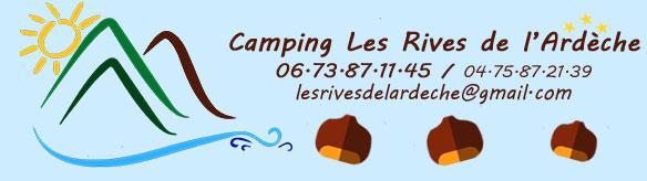 Camping les Rives de l'Ardèche - 07