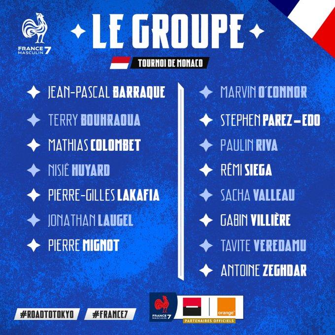 France 7 à Aix pour préparer le tournoi de Monaco